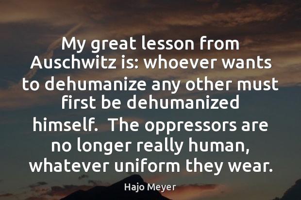 dehumanize